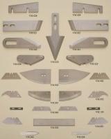 Ножи дисковые и прямые